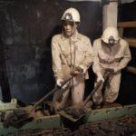 「石炭記念館」で石炭の歴史を学習したよ