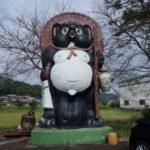 滋賀県信楽町には狸の置物はヤバイほどあります