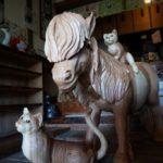 山口県に木でできた猫がたくさんいるお寺があるんだよ!「雲林寺」