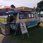 世界一おいしいホットドッグ、廃車で販売中!「ホットドッグ四ツ葉」