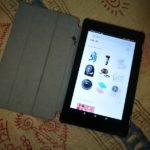 LCC海外旅行のお供に!amazon特製激安タブレット「Kindle Fire7」レビュー