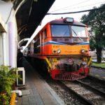 タイローカル鉄道の様子
