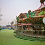 レトロ遊園地と北朝鮮グッズ店あります「臨津閣国民観光地」