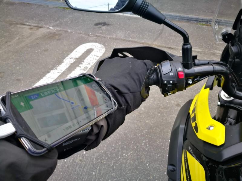 ホルダー バイク スマホ