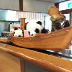パンダが船で中華そばもってくる「ドライブイン旭川」